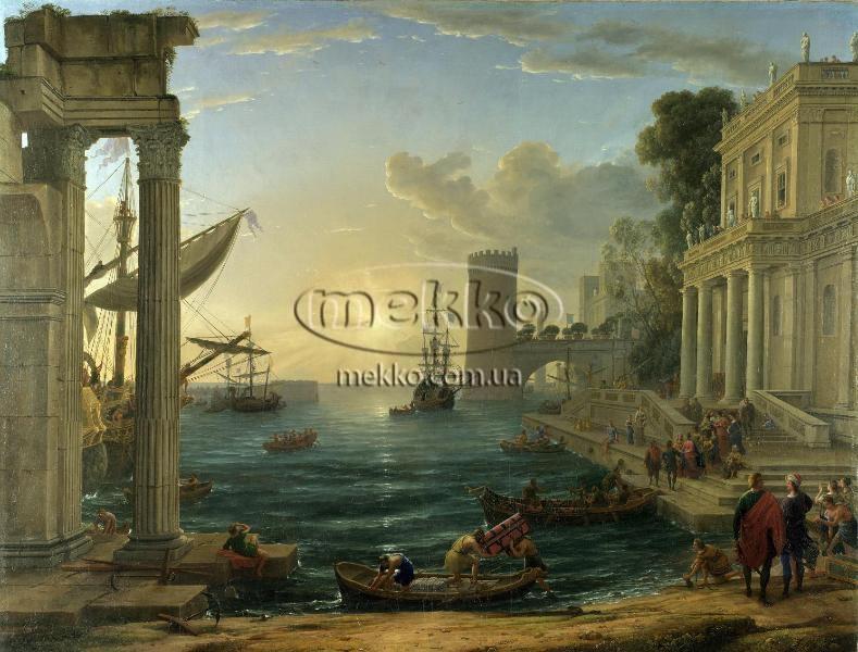 Картина Морський порт, Клод Верне  Маріуполь