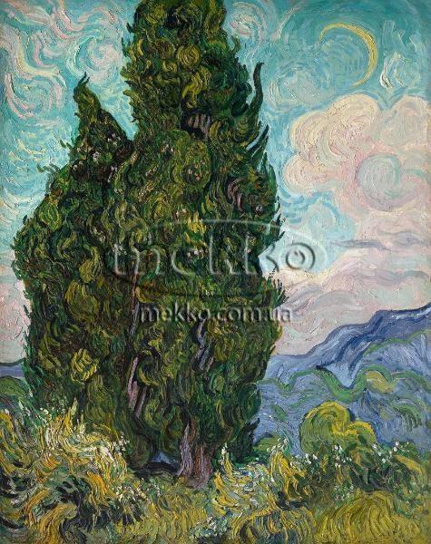 Картина Кипариси, Вінcент ван Гог  Маріуполь