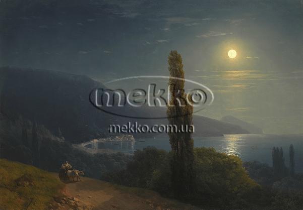 Картина Кримське узбережжя в місячному світлі, І.К. Айвазовський  Маріуполь