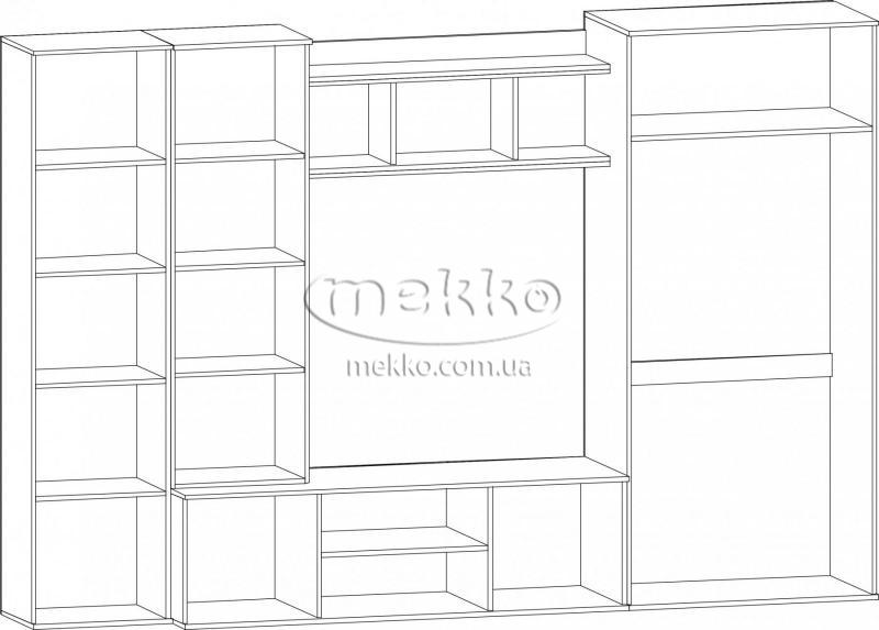 """Стінка """"Конго"""" Мебель-Сервіс  Маріуполь-4"""