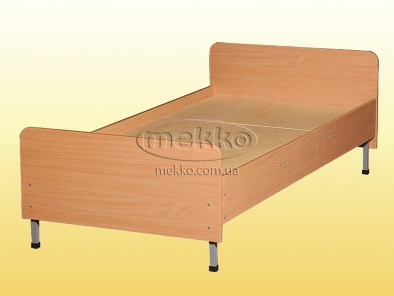 Ліжко 1-спальне на металевому каркасі, з заокругленими спинками (700х1900х640/540 мм) (арт. 0816) Геліка  Маріуполь
